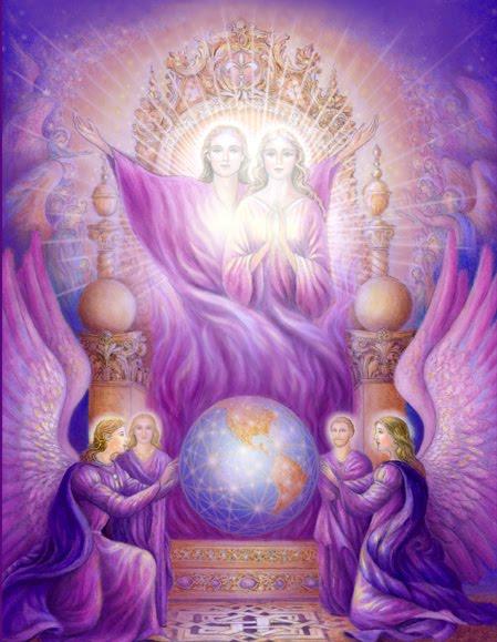 Chama dos Elohim e Mestres Ascensos
